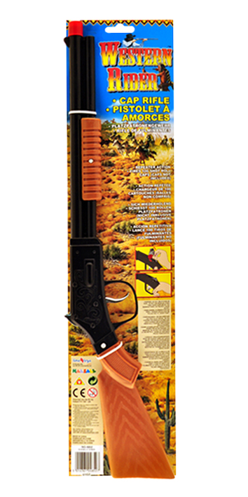 Toy Cowboy Cap Gun Rifle Low Cost Toy Weapons For Kids