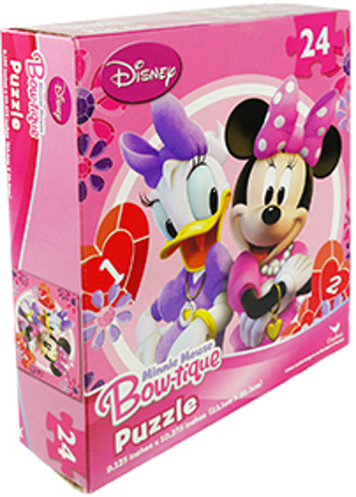 Disney Minnie Mouse Bowtique And Daisy 24 Pc Jigsaw Puzzles