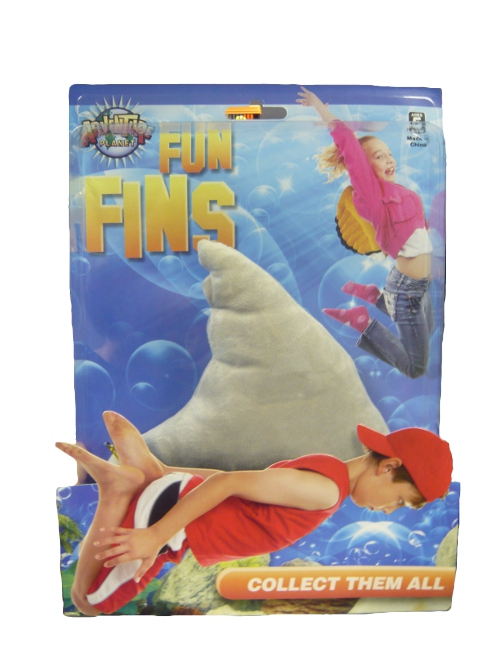 Shark Toys For Adults : Plush shark fin fancy dress party accessories for kids