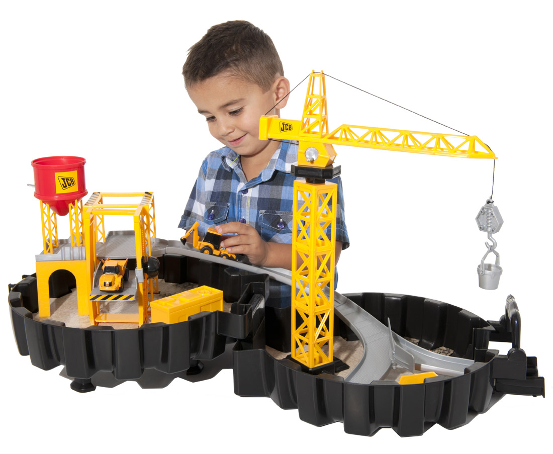 Construction Site Toys : Jcb packaway construction site playset gift and presents