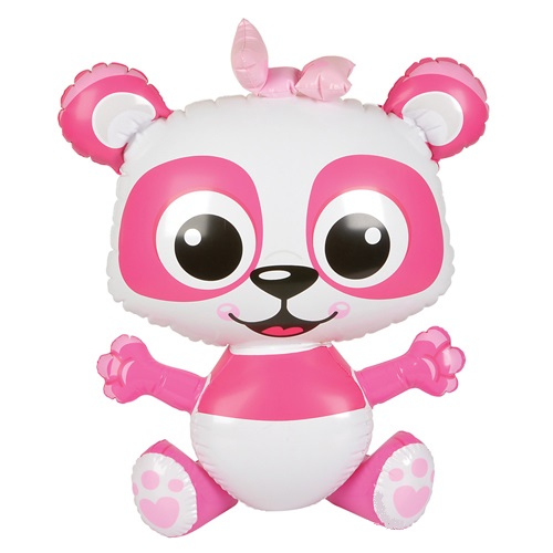 Inflatable Panda Pink Blow Up Toys Inflatable Animals