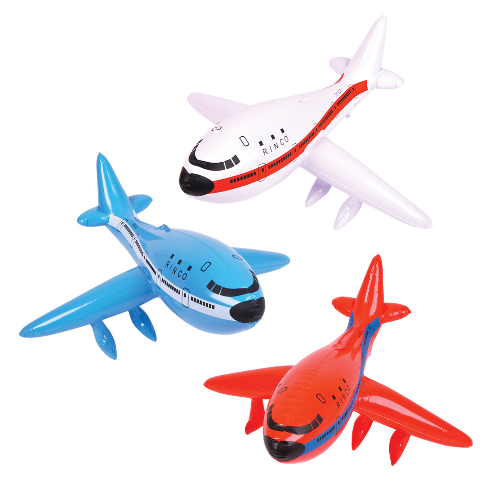 Fun Inflatable Aeroplane Blow Up Toy Vehicles For Kids