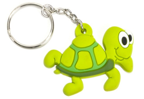 Turtle Keychain Low Cost Gifts Animal Keyrings