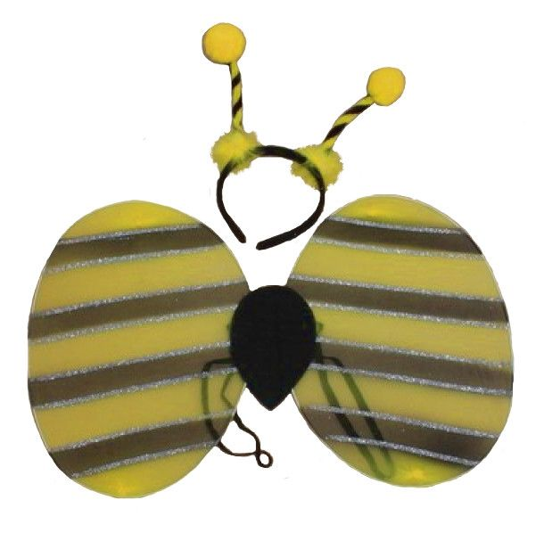 e041a8631de4 Bumblebee Fancy Dress Costume | Wings and Boppers