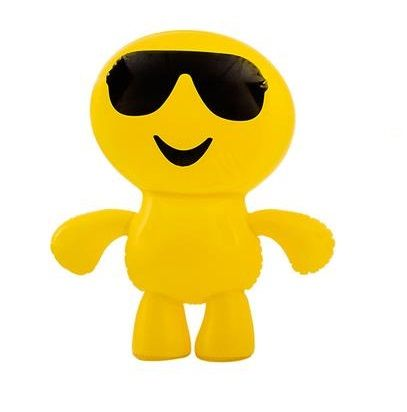 Inflatable Emoji Man Toy Sunglasses Emoticon