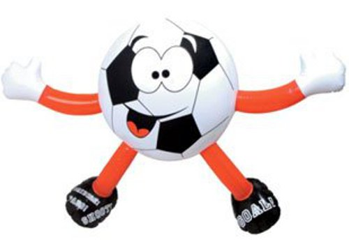 Inflatable Football Man Fun Novelty Blow Up Sports Toy