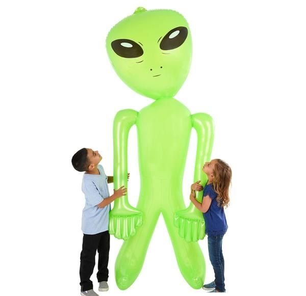 giant blow up alien