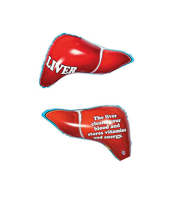 Liver Inflatable Body Part Funny Novelty Blow Up Toys