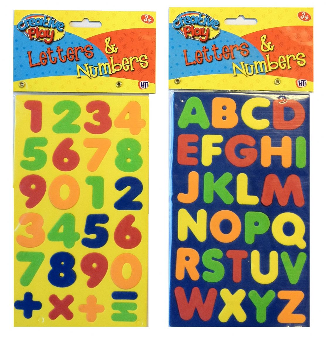 magnetic foam letters and numbers