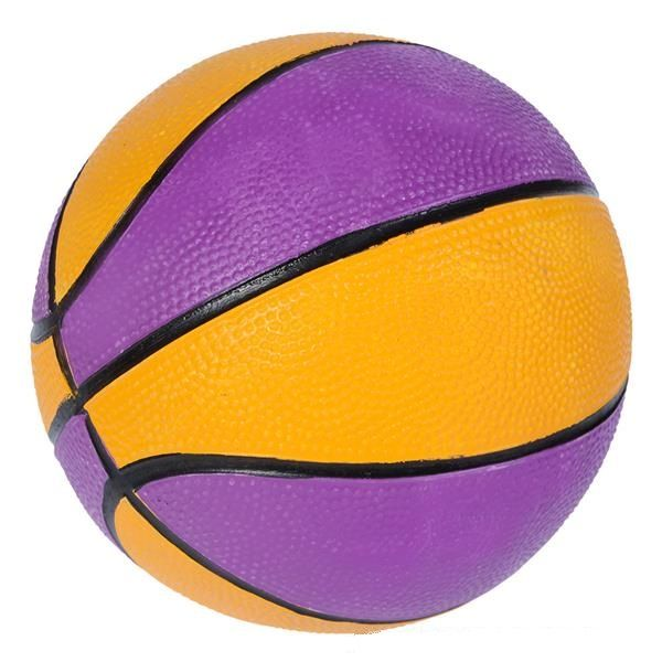Mini Basketball Purple Amp Yellow Sports Gift