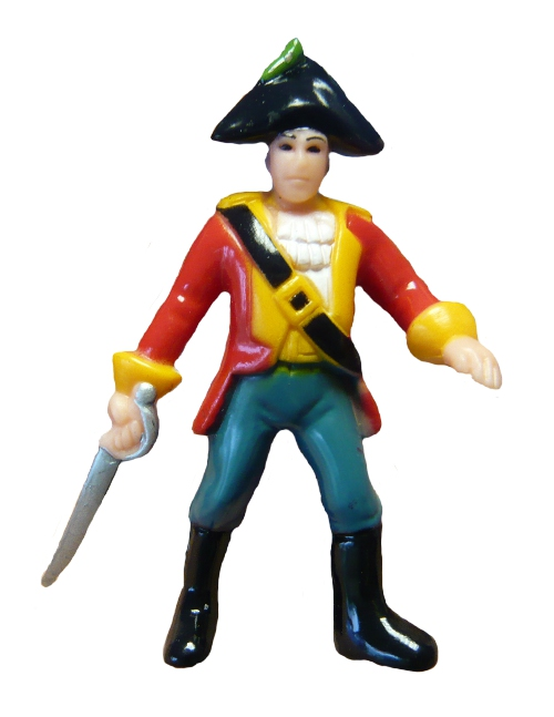 Toy Pirate Figurine David Party Bag Toy Pirate Novelty