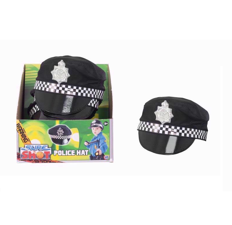 Police Officer Fancy Dress Hat  sc 1 st  Super Fun Stuff & Police Officer Fancy Dress Hat | Costume Party Additions