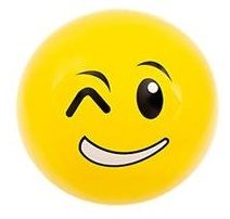 Emoji Beach Ball |Smirk and Wink Face