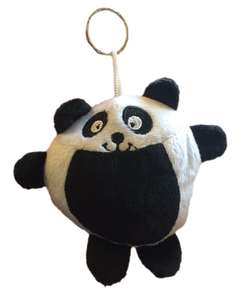 Soft Panda Animal Toy Keyring Kid S Gifts