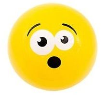 Emoji Beach Ball |Surprised Face | Emoticon Inflatable