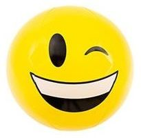 Emoji Beach Ball |Winking Face | Emoticon Inflatable