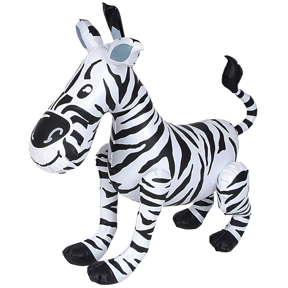 Inflatable Zebra Toy Blow Up Animals Inflatable Animals