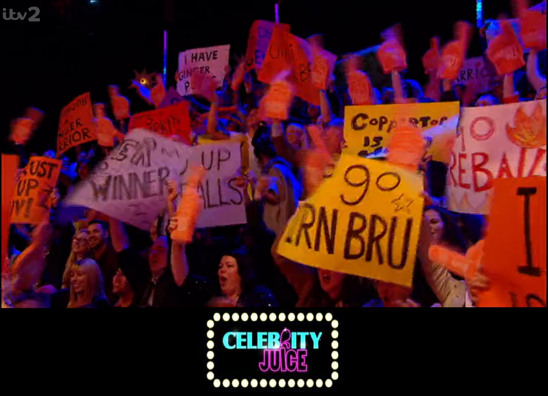 Celebrity Juice Foam Hands